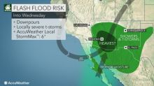 Flooding downpours, locally severe storms to threaten parched southwestern US this week