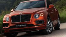 史上最快超跑級SUV!Bentley Bentayga Speed