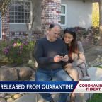 Couple released from coronavirus quarantine at Travis AFB