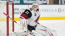 Sharks sign Adin Hill to two-year contract, lock up goalie tandem