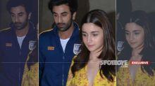 No Fight With Alia Bhatt, Ranbir Kapoor Was Upset With Someone At Gully Boy Screening