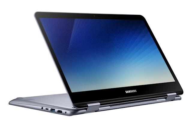 Samsung gives the 13-inch Notebook 7 Spin a few modest updates