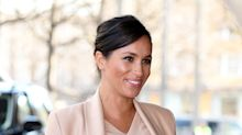 Meghan Markle's nude-on-nude outfit is perfect for work