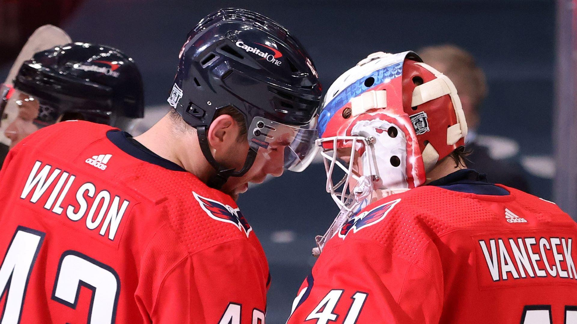 With Vitek Vanecek gone, Capitals are left with a salary-cap crunch