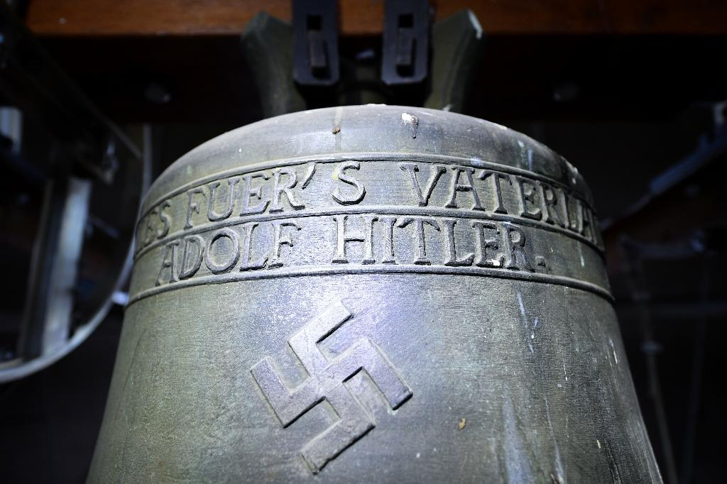 """The German village of Herxheim has repeatedly caught national attention for the controversial """"Hitler bell"""" since a former church organist complained about the inscription"""