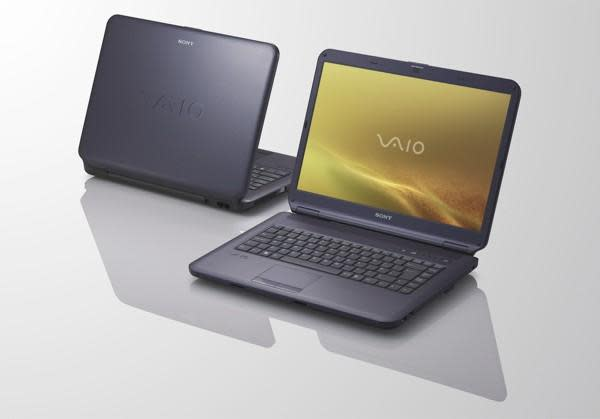 Sony's VAIO NS packs Blu-ray for $1000