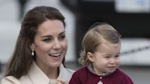 Kate Middleton Took Charlotte and Louis to Park