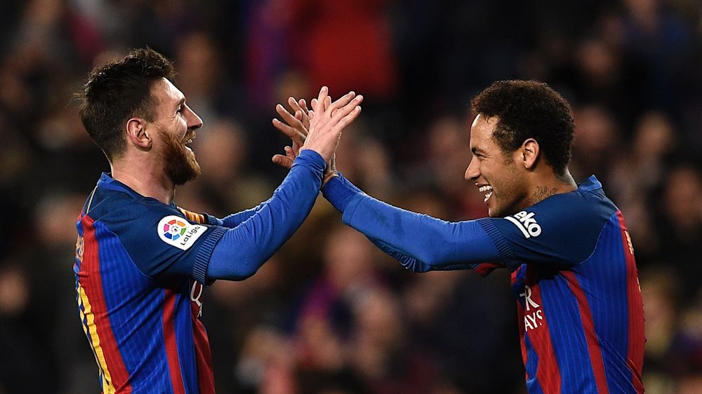 Lionel Messi: Emotionales Abschiedsvideo für Neymar