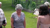Girl Wears Grandmother's Prom Dress as Surprise