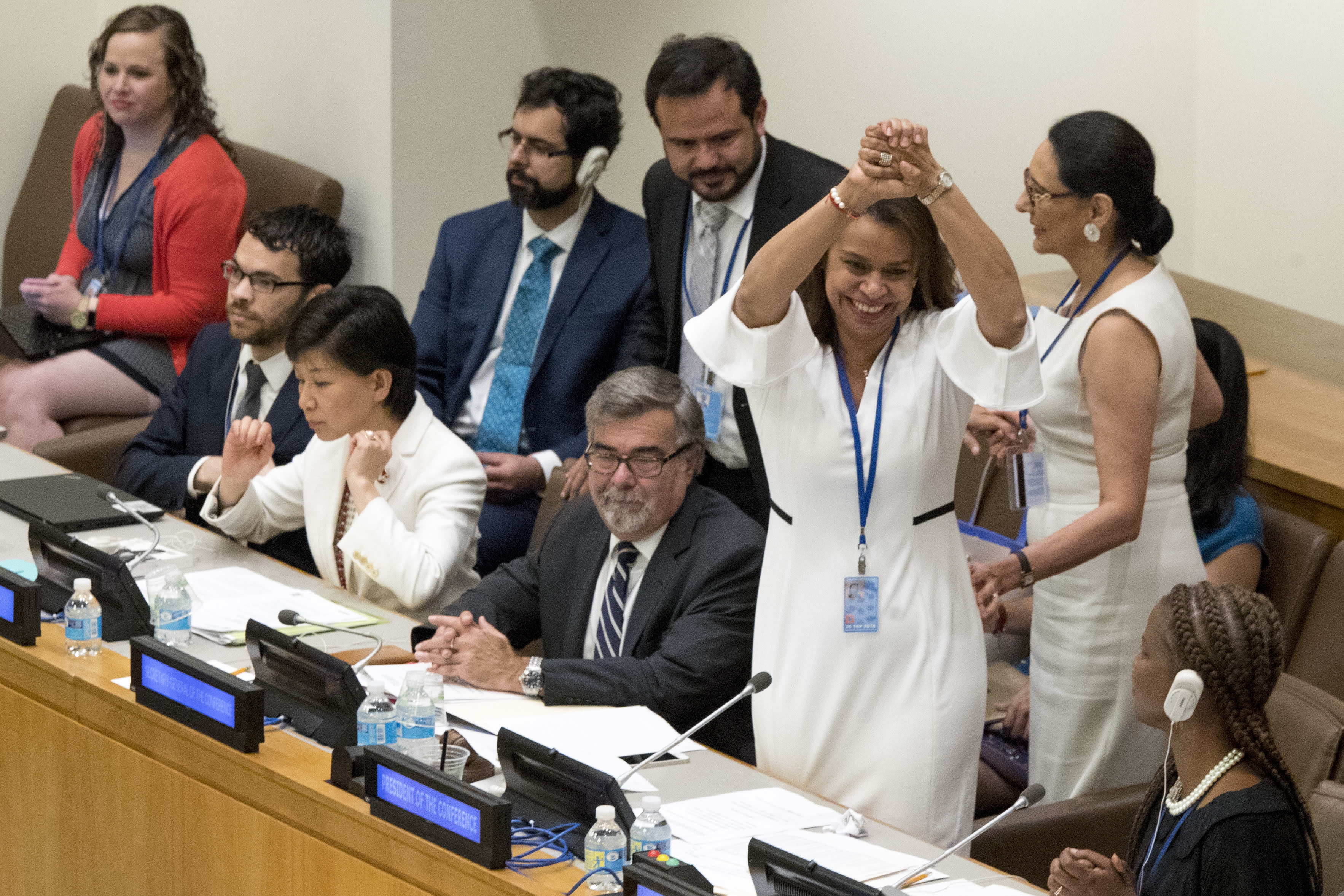 122 Countries Approve First-Ever Treaty to Ban Nuclear Weapons