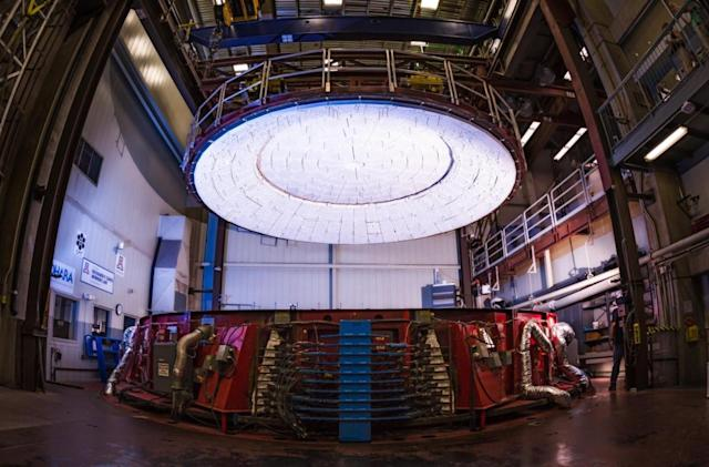 The world's largest telescope is edging closer to completion
