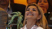 Jeanine Áñez confirma candidatura a presidencia de Bolivia