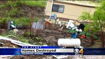 Mudslide Destroys Homes In Colorado Springs