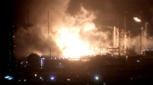 Fire erupts at ExxonMobil refinery in Louisiana; no injuries