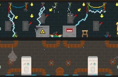 Adult Swim's latest Flash game climbs the corporate ladder