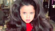 This 5-year-old's big hair is going viral — and her parents are being shamed because of it