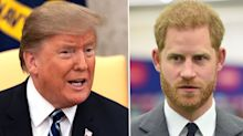 Reason why Prince Harry might think Donald Trump is a creep