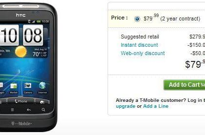 HTC Wildfire S now available on T-Mobile, can be yours for $80