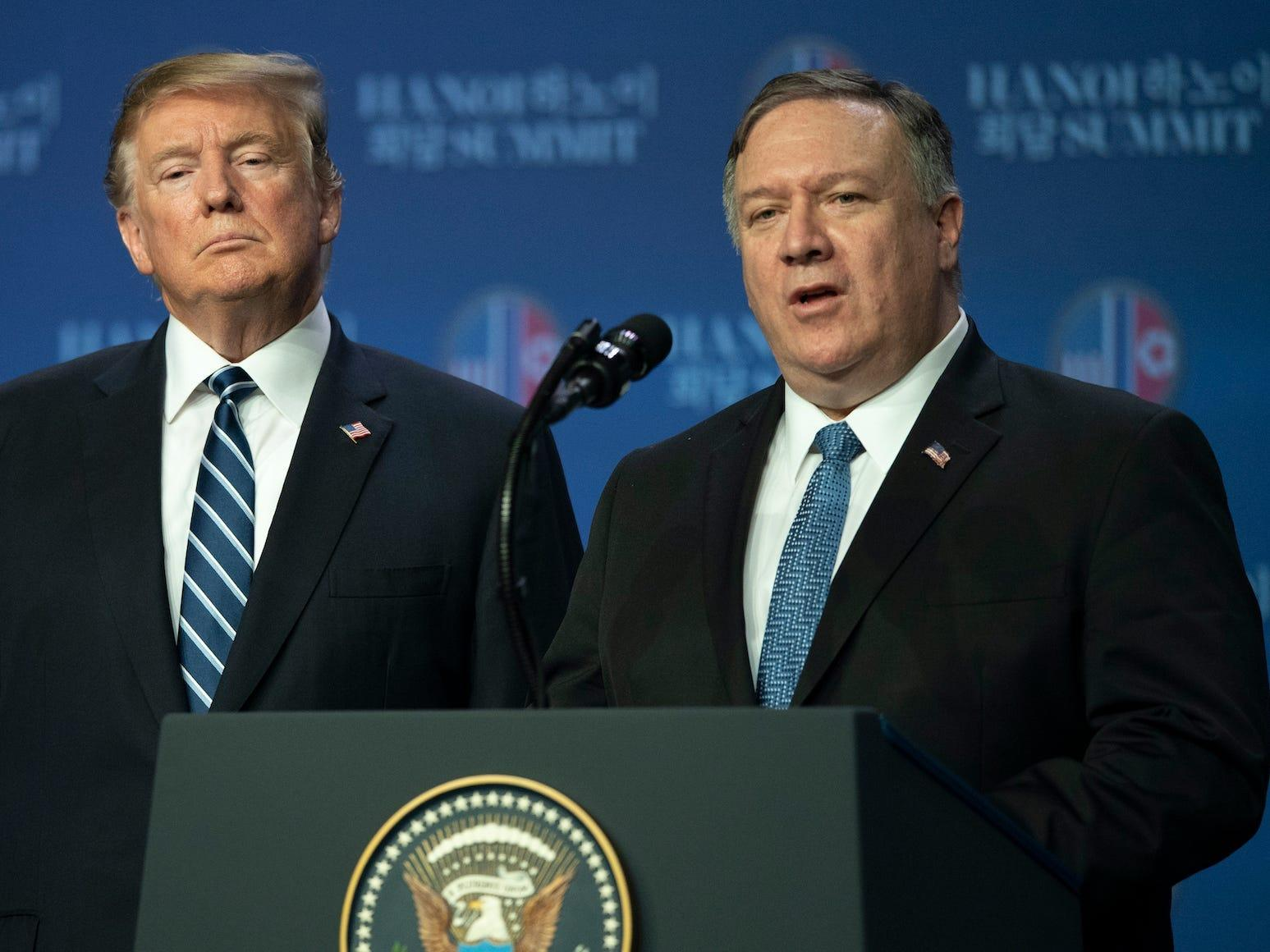 Trump has given up on Iran policy in his last weeks in office and told Pompeo he can do anything he wants, as long as it doesn't 'start World War III,' report says