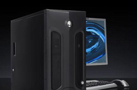 Alienware's MJ-12 8550 workstations sport up to eight cores