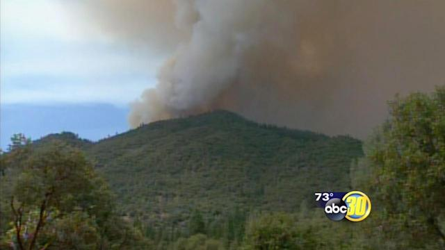 Carstens Fire near Midpines burns 1,600 acres
