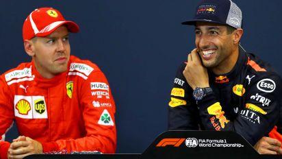 'Someone said no': Ricciardo's stunning claim