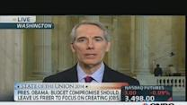 Obama's dual message on tax reform: Rep. Portman