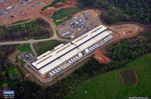 Facebook flips the switch on its North Carolina data center, cooled with balmy mountain air