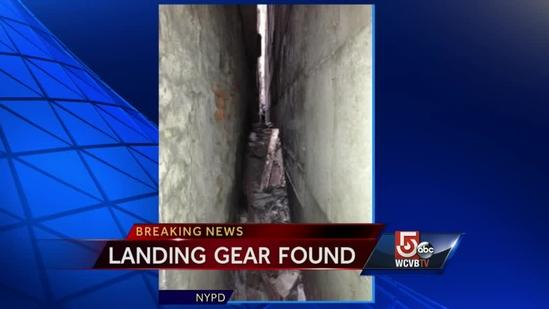 Debris from plane that crashed into World Trade Center discovered