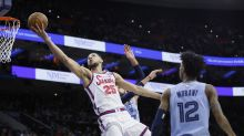 76ers' Simmons out at least 2 more weeks with back injury