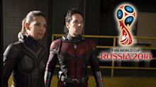 Was 'Ant-Man and the Wasp' delayed in the UK because of the World Cup?