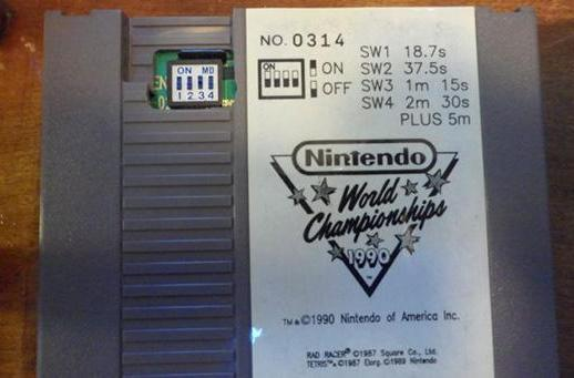 NES World Championship cart auction ignites sales rush