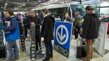 Sale of vintage bus and subway items draws huge crowd in Montreal