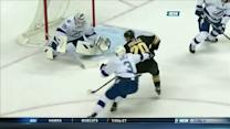 Bruins strike twice in 20 seconds