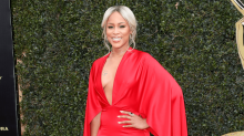 Eve Went All-Out Bombshell in Christian Siriano at the Daytime Emmys