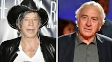 Mickey Rourke claims Robert De Niro feud stopped him landing a role in 'The Irishman'