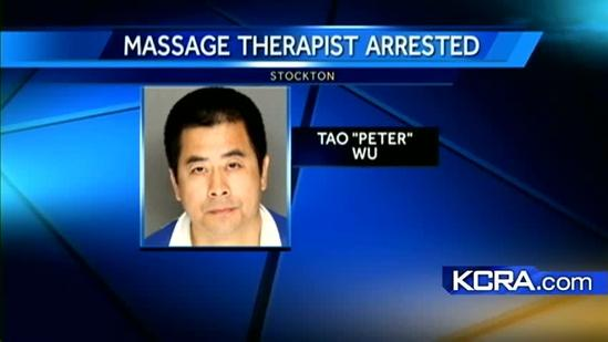 Stockton police arrest masseur on sexual battery