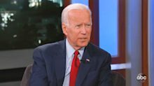 Biden responds to Trump impeachment inquiry and Giuliani's allegations