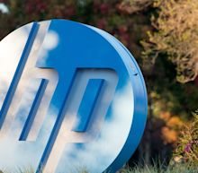HP stock sinks after printing woes overshadow notebook demand