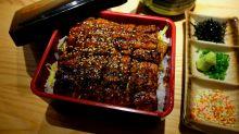 【佐敦美食】即叫即燒活鰻專門店!鰻魚丼飯+活鰻天婦羅+海鰻蒸年糕