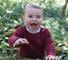 See royal baby Prince Louis of Cambridge on his first birthday