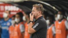 Cuquinha nega queda física de jogadores do Santos, mas fala em desgaste por viagens