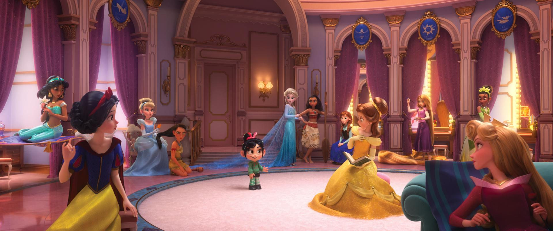 Sarah Silverman Ralph Breaks The Internet Flips The Script On Princess Ideal