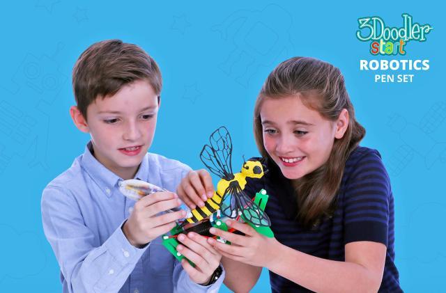 3Doodler's new kits help kids craft their own robots