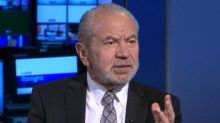 Lord Sugar backs Boris Johnson as PM despite demanding he be jailed over Brexit