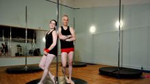 Father-daughter pole dancing team go viral