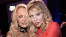 Courtney Love calls series inspired by pal Pamela Anderson 'vile': 'Shame on Lily James, whoever the f*** she is'