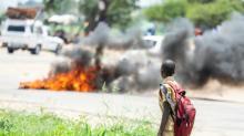 Manifestações deixam três mortos no Zimbábue