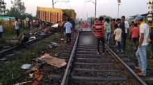 Trivandrum Rajdhani Train Truck Collision: 2 Coaches Derailed, Truck Driver Dies in Accident Between Godhra-Ratlam Crossing