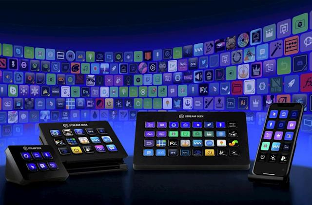 Elgato's Stream Deck XL has 32 customizable keys